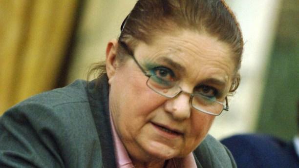 Reuniunea Consiliului de Onoare al Institutului de Investigare a Crimelor Comunismului. In imagine: Lucia Hossu Longin.