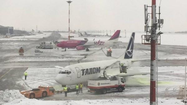 aeroport - henri coanda - iarna