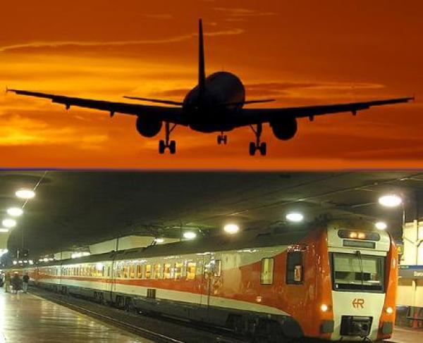 tren -avion