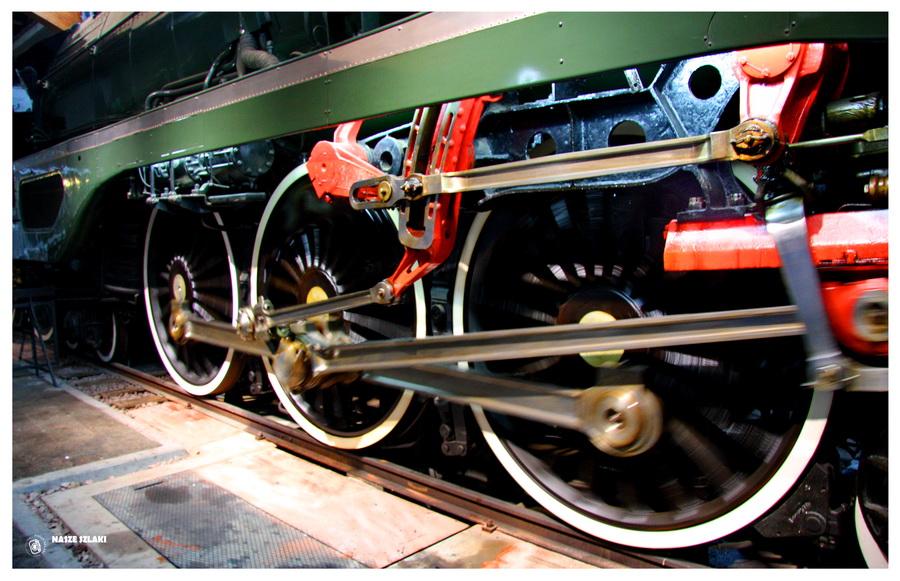 Muzeum Motoryzacji i Kolejnictwa Cite du Train - Francja