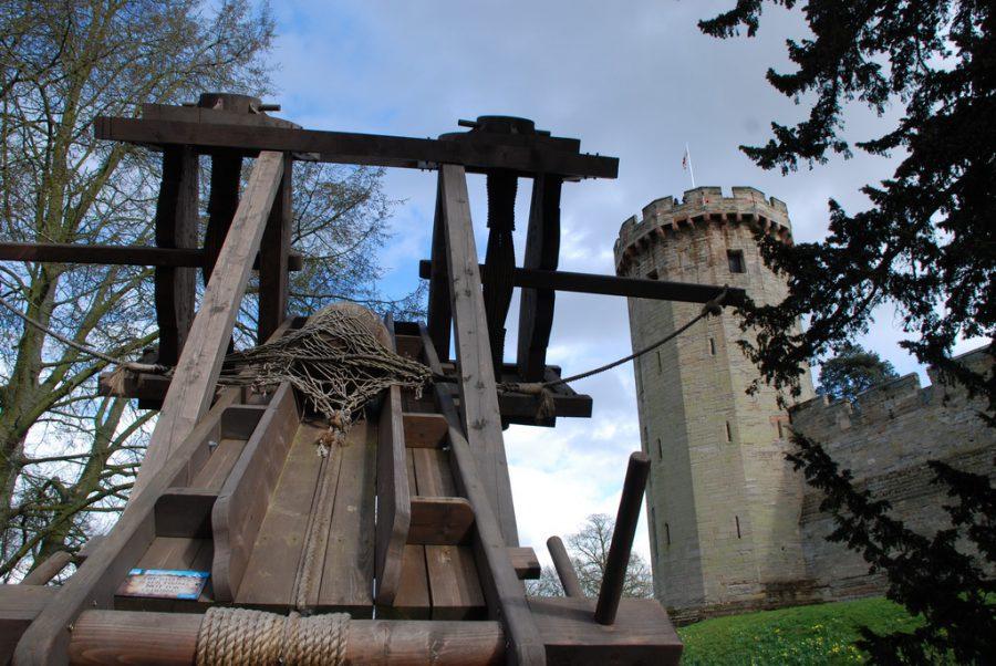 Warwick Castle w środkowej Anglii