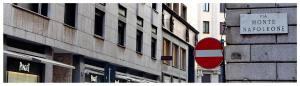 Via Monte Napoleone, Mediolan, Włochy, zakupy, co zobaczyć, jak zwiedzać, podróże, atrakcja turystyczna, butiki, drogie sklepy, słynna ulica