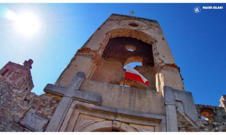 Ruiny zamku Krzyżtopór w świętokrzyskim
