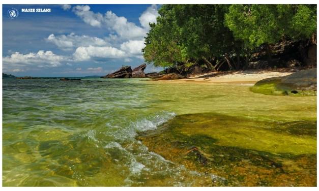 Piaszczyste plaże Otres Beach – Kambodża