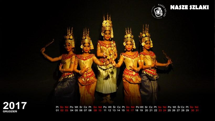 Tradycyjny taniec Khmerów z Kambodży