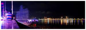 Phnom-Penh-Kambodża-Azja-stolica-ceny-opinie-atrakcje-co-zobaczyć-zwiedzanie-Mekong-rzeka-nocny-widok