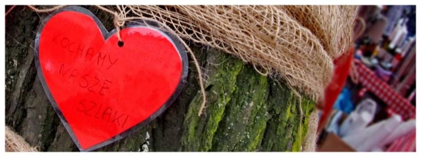 Serce jest jednym z symboli miasta Chełmna, jak przystało na słynne miasto zakochanych