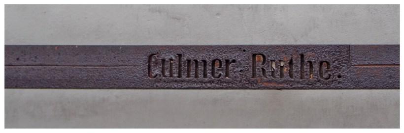 Pręt chełmiński - przymiar wykorzystywany do określenia jednostki długości w dawnych czasach w mieście. Długość to 4.35 metra