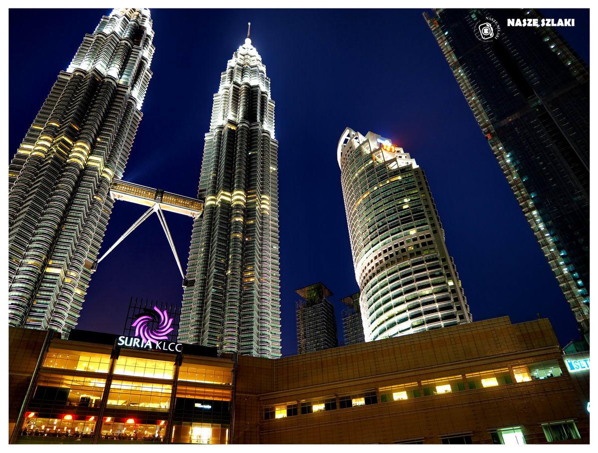 Petronas Towers w Kuala Lumpur - Malezja