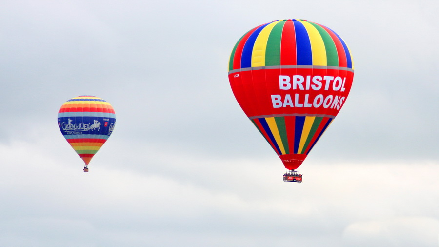 The Bristol International Balloon Fiesta – Baloniarskie święto w Bristolu
