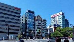 Ulice japońskiego Tokio