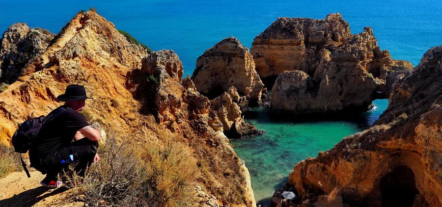 Portugalia - Lagos i wybrzeże Algarve