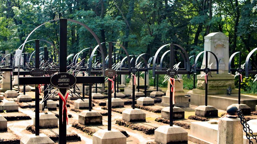 Ukraina - Lwów i Cmentarz Łyczakowski - Powstańcy Styczniowi