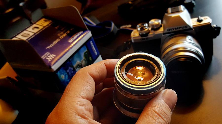 Obiektyw do aparatu Olympus