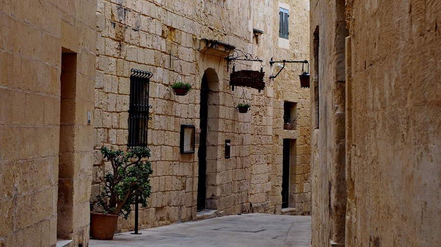 Miasto Mdina na Malcie