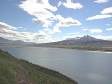 The southernmost part of bay Eyjafjordur.