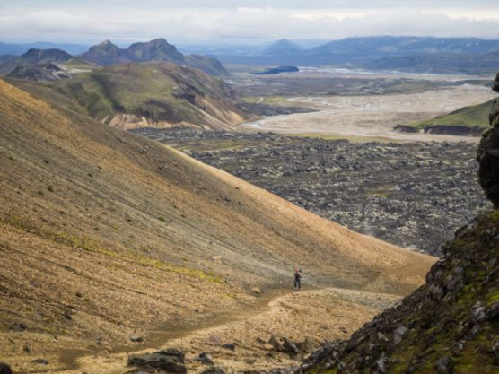 View over Laugahraun. Photo: Greg Maino, Juskuz.com