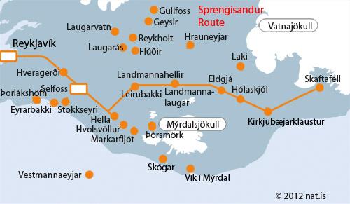 REYKJAVIK-LANDMANNALAUGAR-SKAFTAFELL - NAT on vik iceland map, landmannalaugar iceland map, reykjavik iceland map, skaftafell iceland map, keflavik iceland map, gauksmyri iceland map, hvolsvollur iceland map, holmavik iceland map, egilsstadir iceland map, hekla iceland map, skagafjordur iceland map, gullfoss iceland map, akranes iceland map, grimsey island iceland map, laugarvatn iceland map, hellnar iceland map, geysir iceland map, seydisfjordur iceland map, hofsos iceland map, hafnarfjordur iceland map,