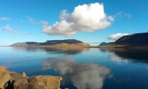west Iceland still