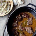 Braised Short Ribs in Two Wines Sauce, Comfort Food in a (so far) Mild Winter