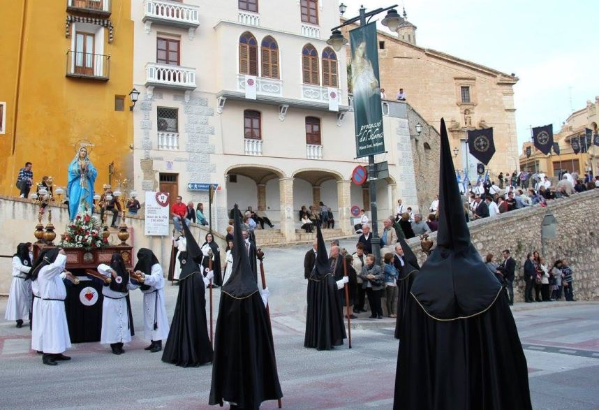 Our Lady of Sorrows, Good Friday procession in Onteniente