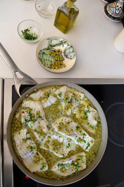 Cod in salsa verde, Mama ía