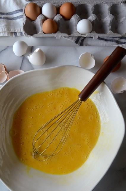 Spanish omelet, tortilla española, Mama ía