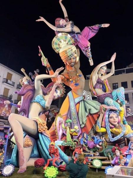 Las Fallas de Valencia, Mama ía blog
