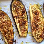 Oven Baked Eggplant with Pimentón, one of two sibling sides