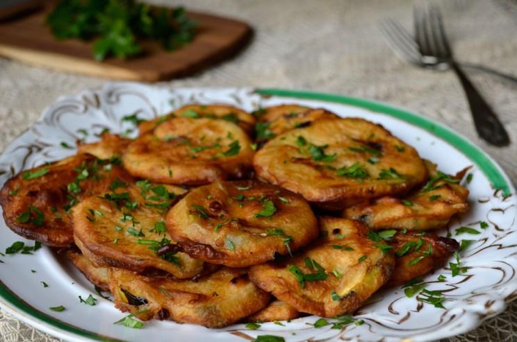 Crispy battered zucchini, Mama ía blog