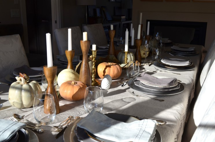 Autumn tablescape, Mama ía blog