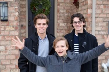 Anderson boys, Mama ía blog