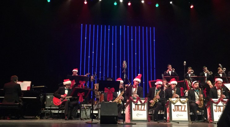 Purdue Jazz band Christmas Concert, mama ía blog