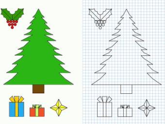 In questa pagina abbiamo inserito gli addobbi di natale per bambini da stampare e colorare. Disegni Di Natale Da Colorare