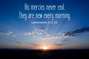 New Mercies image