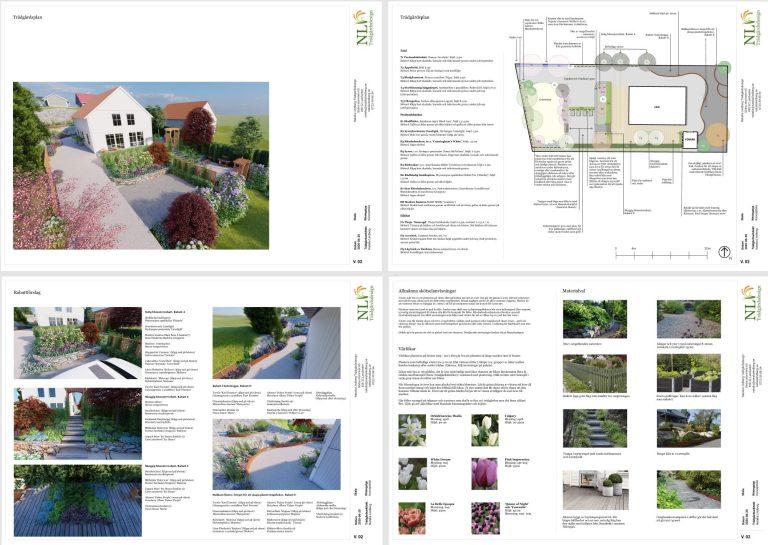 Trädgårdsarkitekt i Göteborg - Natalia Lindberg trädgårdsplanering i 3D - trädgårdsplanering