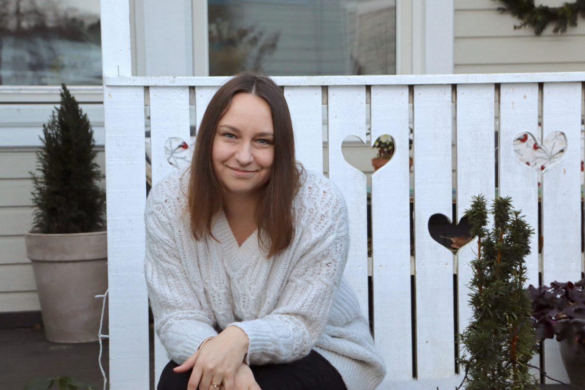 Natalia Lindberg Trädgårdsdesign - julfint i entrén