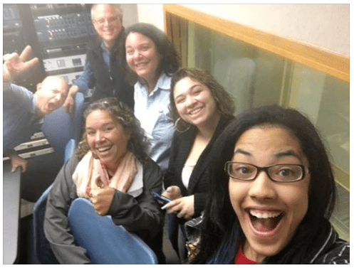 Thanks to Rhonda Soto, Dean of Students at the Paolo Freire School of Social Justice in Holyoke, and students Amanda and Lali for talking to us this morning on the Vaya con Muñoz segment of The Bill Newman Show on WHMP 1400/1600 AM! Thanks to hosts Bill Newman and Monte Belmonte