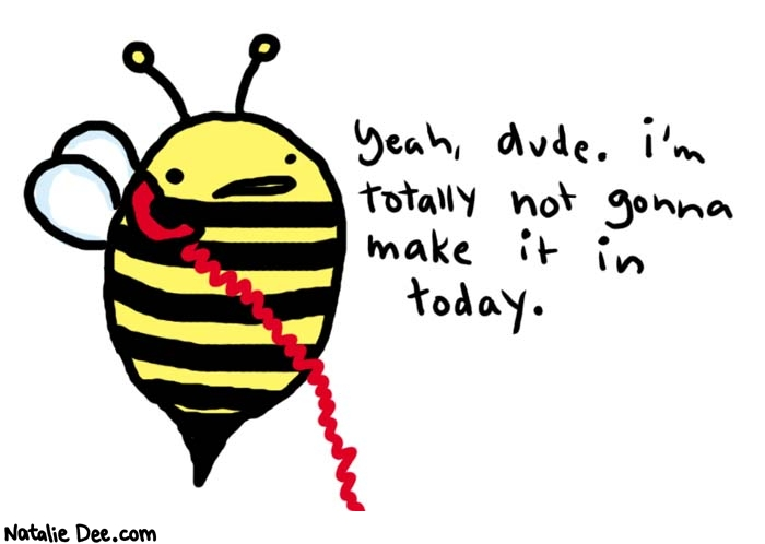 Bee\'s Getting Sick