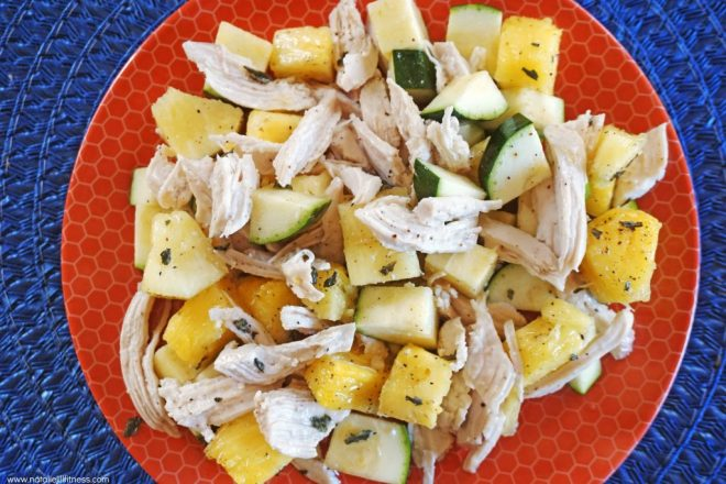 Quick Tropical Chicken Salad
