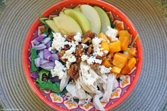 Apple Butternut Squash Harvest Salad