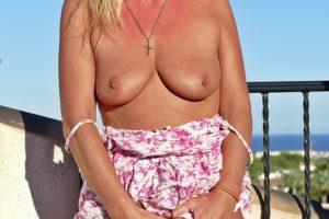 NatalieK xxx porn adult outdoors tits pussy