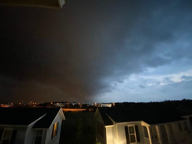 storm clouds april 2020