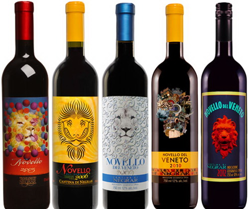 reserve wine labels and