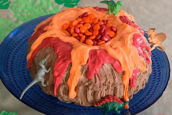 Cool Volcano Birthday Party Ideas Natalie Menke Personalised Birthday Cards Veneteletsinfo