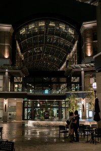 City Creek Night Couple