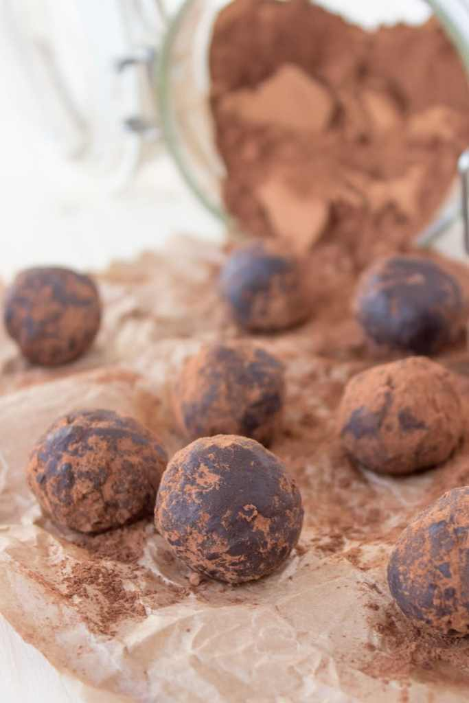 Wonderful, soft and fragrant Chocolate Cinnamon Balls made without added sugars and with all healthy ingredients. This chocolate delight is perfect holiday dessert or healthy snack anytime. CLICK to grab recipe or PIN for later!