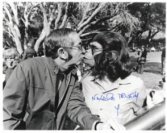 Natalie Trundy Autographed Photos Frame