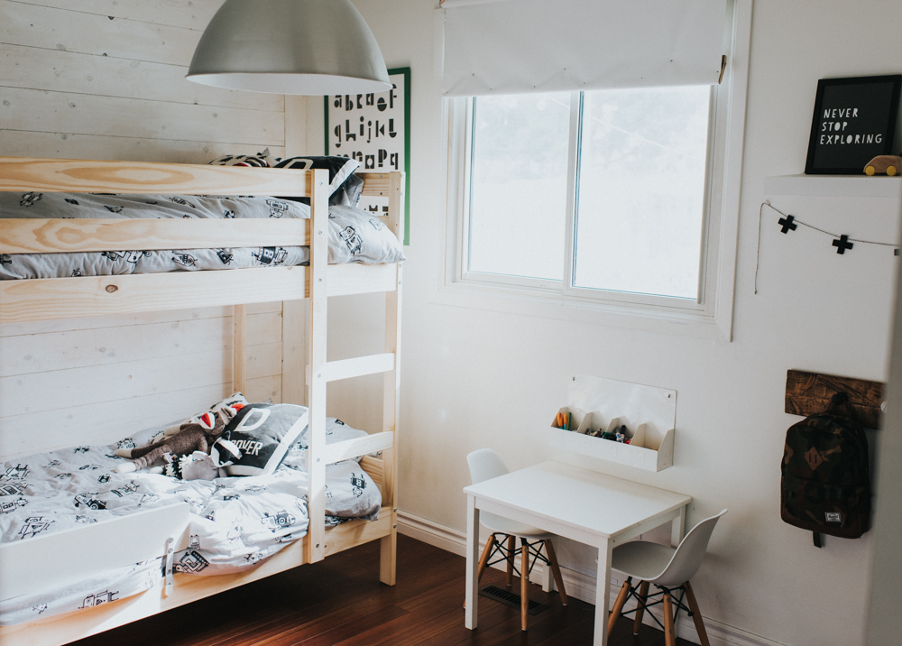 minimal bedroom. I blogged here about our playroom and how we keep the boys toy collection  to a minimum In that same post explained benefits of this as well The Twins Minimal Bedroom Natalie Young A Lifestyle Blog