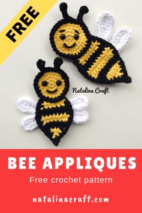 Free Pattern: Burt the Baby Honey Bee – Storyland Amis | 428x285